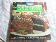 1999 HC Kraft Best-Ever Holiday Recipe Collection, Quick Brand Name Cookbook