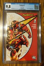 Flashpoint #1 ~ CGC 9.8 ~ SDCC 2012 Exclusive