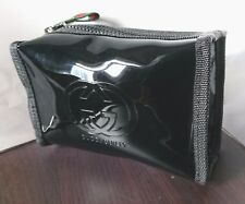 GUCCI Guilty Black Patent Water Proof Cosmetic Pouch Clutch Bag SMALL SIZE New