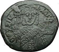 Theophilus 835Ad Constantinople Follis Ancient Medieval Byzantine Coin i58368