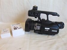 JVC HD Memory Card Camera Recorder Model GY-HM100U & New Battery/Charger S3593