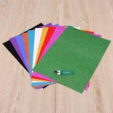 10 Sheets A4 Glitter Self-Adhesive Craft Vinyl Art Sparkling Sign Sticker Colour