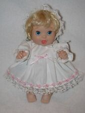 "Cute 10"" Baby Doll By Cap Toys 1995"