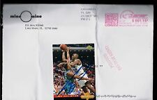1/1 SHAQUILLE ROOKIE AUTO MINE O'MINE MAIL-BACK CARD SHAQ ONEAL CRISP AUTOGRAPH