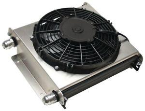 DERALE Remote Oil Cooler -12AN w/ Fan P/N - 15876