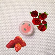 Strawberry Scented Balm (Organic ingredients, Long lasting scent)
