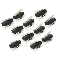 11Pcs 1NO 1NC SPDT Momentary Long Hinge Lever Micro Switches AC 125V 1A CP W87