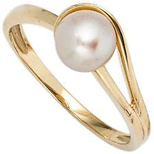 Ringe mit echten Süßwasser-Perlen für Damen
