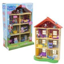 La Mega Casa di Peppa Pig con George Peppa e Zoe Zebra Sorpresa in ogni Stanza