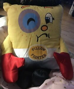 Vintage Pillow People Stuffed Toy Boxer/pillow fighter 1985