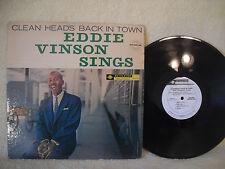 Eddie Vinson Sings, Clean Head's Back in Town, 1957, Bethlehem, BCP 5005, PROMO