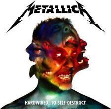 Hardwired...To Self-Destruct [Digipak] by Metallica (CD, Nov-2016, 2 Discs, Blackened)