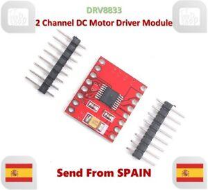 DRV8833 Dual H-bridge 2 Channel DC Motor Driver Module