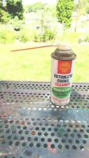 Vintage Automatic Choke Cleaner Can Aerosol Shell Oil Co Rare