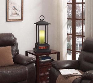 Duraflame Lantern Infrared quartz heater Color Changing Candle NEW BOX $200 MSRP