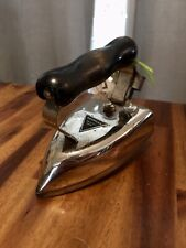 Vintage American Beauty No 6 1/2B American Electrical Heater Iron Wood Handle