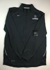 Nike Dri-Fit 1/4 Zip Long Sleeve Pullover BaseLayer Shirt Sz S Gray Embroidered