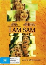 I AM SAM Sean Penn, Michelle Pfeiffer DVD NEW