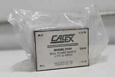 New Calex 7010 Dual Power S 00006000 upply 15v 200mA Factory Sealed Free Priority Shipping