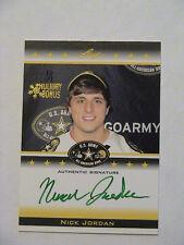 2012 Leaf US Army Holiday Bonus Nick Jordan Texas Longhorns Auto 1/1