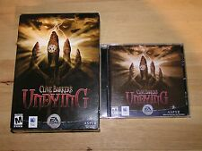 EA Games Clive Barkers Undying Mac CD Game Horror Complete Power Macintosh FPS