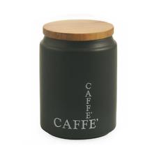 VILLA D'ESTE BARATTOLO CUCINA MODERN CAFFE' CON COPERCHIO GRES E BAMBOO CAFFè