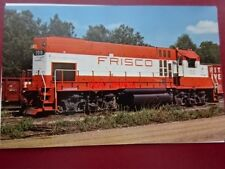 POSTCARD USA LOCOMOTIVE - ST LOUIS - SAN FRANCISICO RAILWAY GP-15-1 NO 100 AT HO