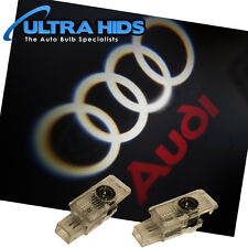 GHOST LOGO LASER PROJECTOR DOOR UNDER PUDDLE LIGHTS AUDI A1 A3 A4 A5 (No Ring)