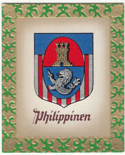 N°76 Philippines Filipinas ECUSSON OLYMPIC GAMES JEUX OLYMPIQUES FLAG CARD 1936