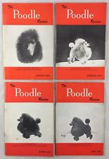 Lot of 4 The Poodle Review Magazines Show Dogs 2