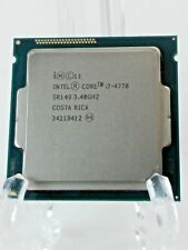 Intel i7-4770 4th Gen 3.40GHz 4 Cores 8 Threads SR149 CPU