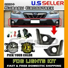 [complete] FOG LIGHT KIT for 2021 Subaru Crosstrek (housing+switch+wiring)