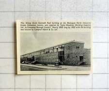 1957 Montague North Industrial Estate Edmonton M Sanger Building