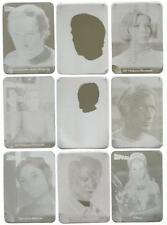 Space 1999 Printing Plates Set of 18 used for the Mirrorfoil Chase Card Set