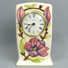 Moorcroft Clock Moorcroft Pottery