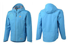 ADIDAS TERREX GORE-TEX Active Shell Jacket Giacca Giacca Outdoor Blu Nuovo Taglia m/52