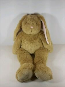 Build A Bear Bunny Rabbit Plush Floppy Ears Tan w/Pink Ears and Nose Easter BAB