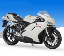 1:18 Maisto DUCATI 848 Motorcycle Bike Model White
