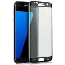 ^ SCHWARZ 3D Curved Schutzfolie HartGlas 9H FULL Face Samsung Galaxy S7 Edge