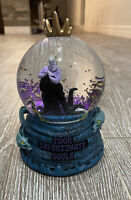 Disney Parks Little Mermaid Ursula Poor Unfortunate Souls Snow Globe In Hand
