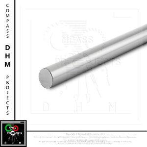 Albero tondo D Ø 30 mm acciaio temprato rettificato barra liscia guida 3D CNC