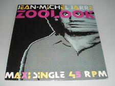 VINYLE MAXI 12'' JEAN MICHEL JARRE ZOOLOOK RARE EDITION EXCELLENT ETAT 1984
