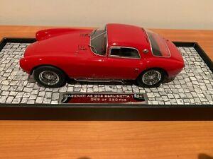 1/18 Minichamps 1954 Maserati A6 GCS Berlinetta Red First Class Collection RARE