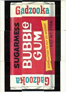 1973 Topps Wacky Packages Series 2 Puzzle Checklist 9 Card Set Gadzooka