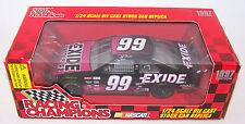 1997 Racing Champions 1:24 JEFF BURTON #99 Exide Ford Thunderbird