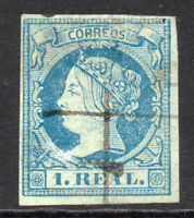 Spain 1 Real 1860-61 Used Stamp (4937)