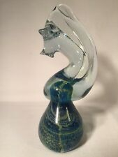 Mdina Glass Paperweight In Form Of A Horse/Knight (ref W744)