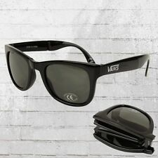 VANS Foldable Spicol Sonnenbrille schwarz glanz Sonnen Brille zusammen faltbar