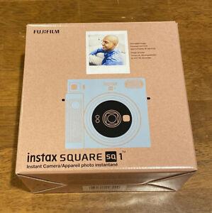 New FUJIFILM INSTAX SQUARE SQ1 Instant Camera Glacier Blue