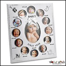 """NEW BABY """"BABY del primo anno"""" Photo Frame-blocchi 13 foto"""